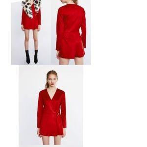 408c824a3d4 Zara Pants - Zara faux suede jumpsuit